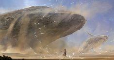 Sand Whales by Wei Huai Xu