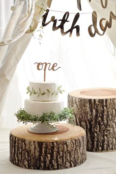 Boys First Birthday Party Ideas, First Birthday Cake Topper, Wild One Birthday Party, Baby Birthday Cakes, Baby Girl First Birthday, 1st Birthday Parties, Rustic Birthday, Festa Party, First Birthdays
