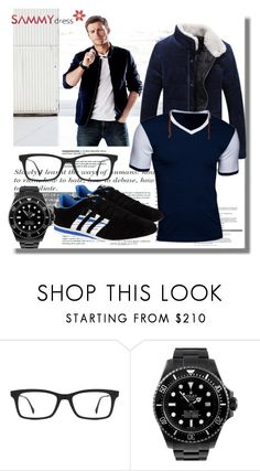 """""""Sammydress 14"""" by azra-90 ❤ liked on Polyvore featuring Ray-Ban, Rolex, women's clothing, women, female, woman, misses and juniors"""