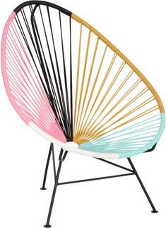 acapulco multi lounge chair  | CB2 $179.00 reg. $249.00