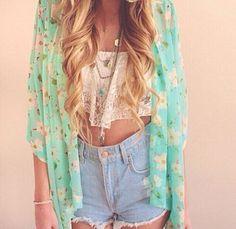 Fashion Flower Print Shirt Top Tee Blouse Cardigan