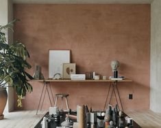 The trestles by Danish design studio Frama are made of solid oak and blackened steel. Wabi Sabi, Trestle Table, Dining Table, Grande Table A Manger, Design Japonais, Thing 1, Wooden Crates, Deco Design, Danish Design