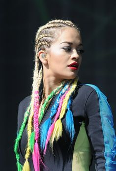 Tracing the transformations of beauty chameleon Rita Ora on Vogue.com.