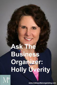 Ask the Business Organizer | Holly Uverity | Geralin Thomas | #NAPO