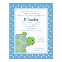 21 Best Turtle Baby Shower Invitations Images Turtle Baby Showers