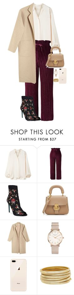 """CANDOR"" by xbadlandsxks on Polyvore featuring The Row, Topshop, Betsey Johnson, Burberry, Mara Hoffman, ROSEFIELD and Bagutta"