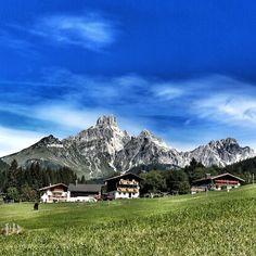 Filzmoos in Salzburg province, Austria