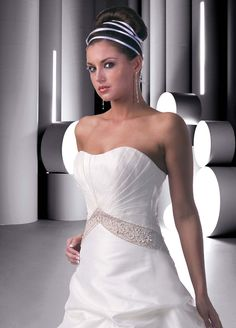 Style 50213 Wedding Gowns DaVinci Bridal Available Colours