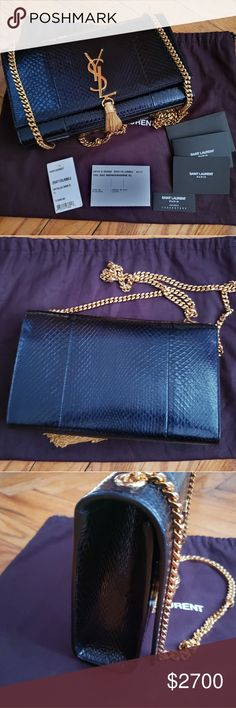 7f1ab776f71 Yves saint Laurent monogram Kate New, This item has original receipt and  Includes dust bag