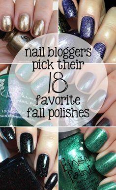 18 Fall Nail Polishes That Nail Bloggers are Loving