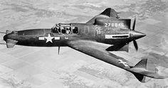 Curtiss XP-55 Ascender  - whoa canards