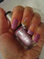 Wild Rose's Nails: Purple  Sand Mirror