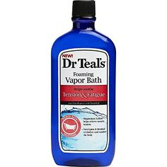 Dr Teals Tension and Fatigue Foaming Vapor Bath 16Ounce ** You can find out more details at the link of the image.