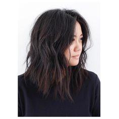 Mid-Length Cut/Style: Anh Co Tran • IG: @Anh Co Tran • Appointment inquiries please call Ramirez Tran Salon in Beverly Hills at 310.724.8167. #dreamhair #fantastichair #amazinghair #anhcotran #ramireztransalon #livedinhair #coolhaircuts #coolesthair #trendinghair #model #haircuts2017 #besthair #ramireztran #womenshaircut #hairmoment #hairtransformation #insalononly #lorealprous #glamteam #fun #tecniart #LorealProAmbasssador #sponsoredbylorealpro