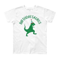 Dinosaur Kids Birthday Shirt T Rex Boy Dino Gift