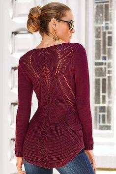 Hi-lo open stitch sweater from Boston Proper on Catalog Spree, my personal digital mall.