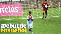 """Contribuye en el pase. Víctor le marcó gol a Damair en la """"Semi"""" de Vuelta."""