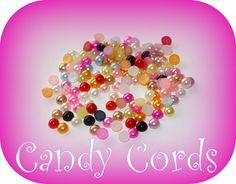 400 - 3mm Mixed Acrylic Flatback Pearls Embellishments Scrapbooking Letter Art