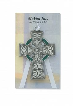 Know an Irish little one? Give them this beautiful Celtic Crib medal to protect them as they sleep.