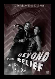 """rahzzah: """"Beyond Belief by Rahzzah Who cares what evil lurks in the hearts of men? http://www.nerdist.com/podcast_channel/thrilling-adventure-hour-channel/ """""""