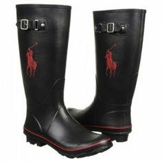 02be2d95d3 Men s Polo Rain Boots By Ralph Lauren Polo Boots