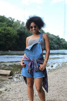 Bib and Brace OVERALLS Hiphop 90s Vintage Denim by HarlowGirls, $38.00