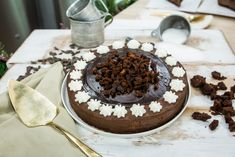 Decadent No Bake Fudge Brownie Cheesecake by Gemma Stafford! Tune in to Home & Family weekdays at 10a/9c on Hallmark Channel!