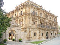 Palacio de Soñanes en Santander, España (estilo barroco español civil)