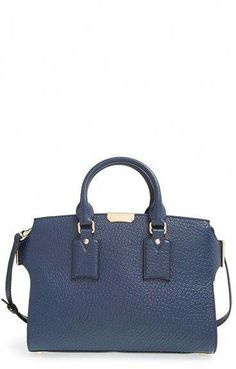Burberry  Medium Clifton  Signature Grain Leather Tote available at.  Taschen Designer Handbags d51832b98f618