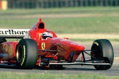 Gianni Morbidelli (Ferrari V10, F310/2). Fiorano Test, 1996