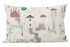 In the Rain Cushion from Ferm Living