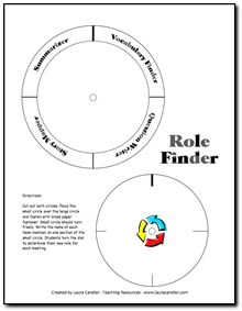 Free Literature Circles Role Finder and other Literature Circles resources in Laura Candler's online file cabinet