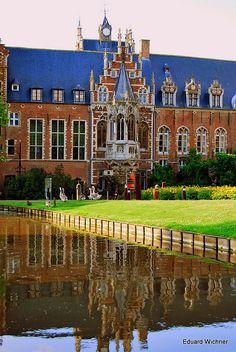 ~Arenberg Castle in Heverlee close to Leuven in Belgium~  #belgium  #heverlee  #castles