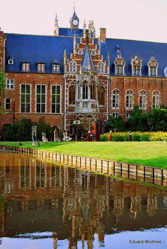 Arenberg Castle in Heverlee close to Leuven in Belgium