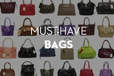 Must-Have Bags at MOREFORLESS. www.moreforless.gr Must Haves, Bags, Fashion, Handbags, Moda, Fashion Styles, Fashion Illustrations, Bag, Totes