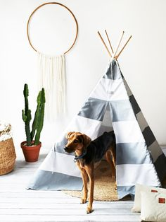 Max Bone Big Dog Teepee at Free People Clothing Boutique