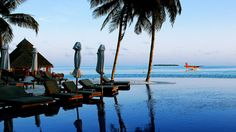 Take a mid-week escape to the Maldives' Rangali Island resort