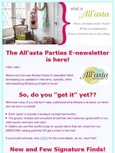 Check out this Mad Mimi #newsletter #all'asta!