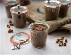 Schoko-Gewürz-Kuchen im Glas