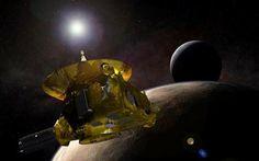 """A sonda New Horizons Registrou a Passagem de um """"Misterioso objeto"""" no Cinturão de Kuiper!!"""