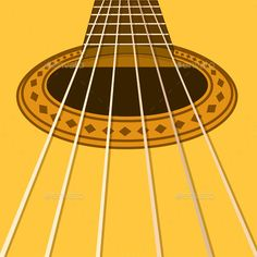 Musical Background with Acoustic Guitar