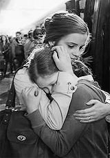 There is nothing like a comforting hug from your Mother.