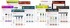 Premium Affiliate Niche Review  Website Templates Package