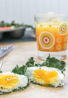 Kale baked eggs. I love love the idea of putting kale or lettuce or a slice of turkey in a muffin tin and baking eggs into it for a complete meal. Skip the cheese and use more egg whites for a lower cal option.