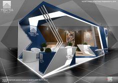 Project TEKTA Group booth at the exhibition Real Estate in 2016Проект стенда Текта Групп для компании Варс ЭКСПО на выставку Недвижимость 2016