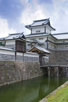 Kanazawa Castle - I used to see this castle all the time when I lived in Kanazawa Japan.