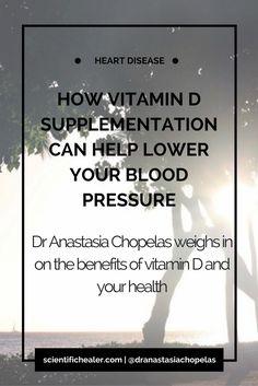 Vitamin D Supplementation Can Help Lower Blood Pressure