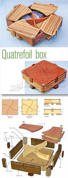Plans of Woodworking Diy Projects - Complex Box Plans - Woodworking Plans and Projects   WoodArchivist.com Get A Lifetime Of Project Ideas & Inspiration!
