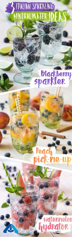 Beat the heat with these three delicious and refreshing water recipes, sure to keep you cool and hydrated all summer long!