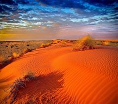 Amazing Photos from Around the Net: Sahara desert in Africa on a cloudy day